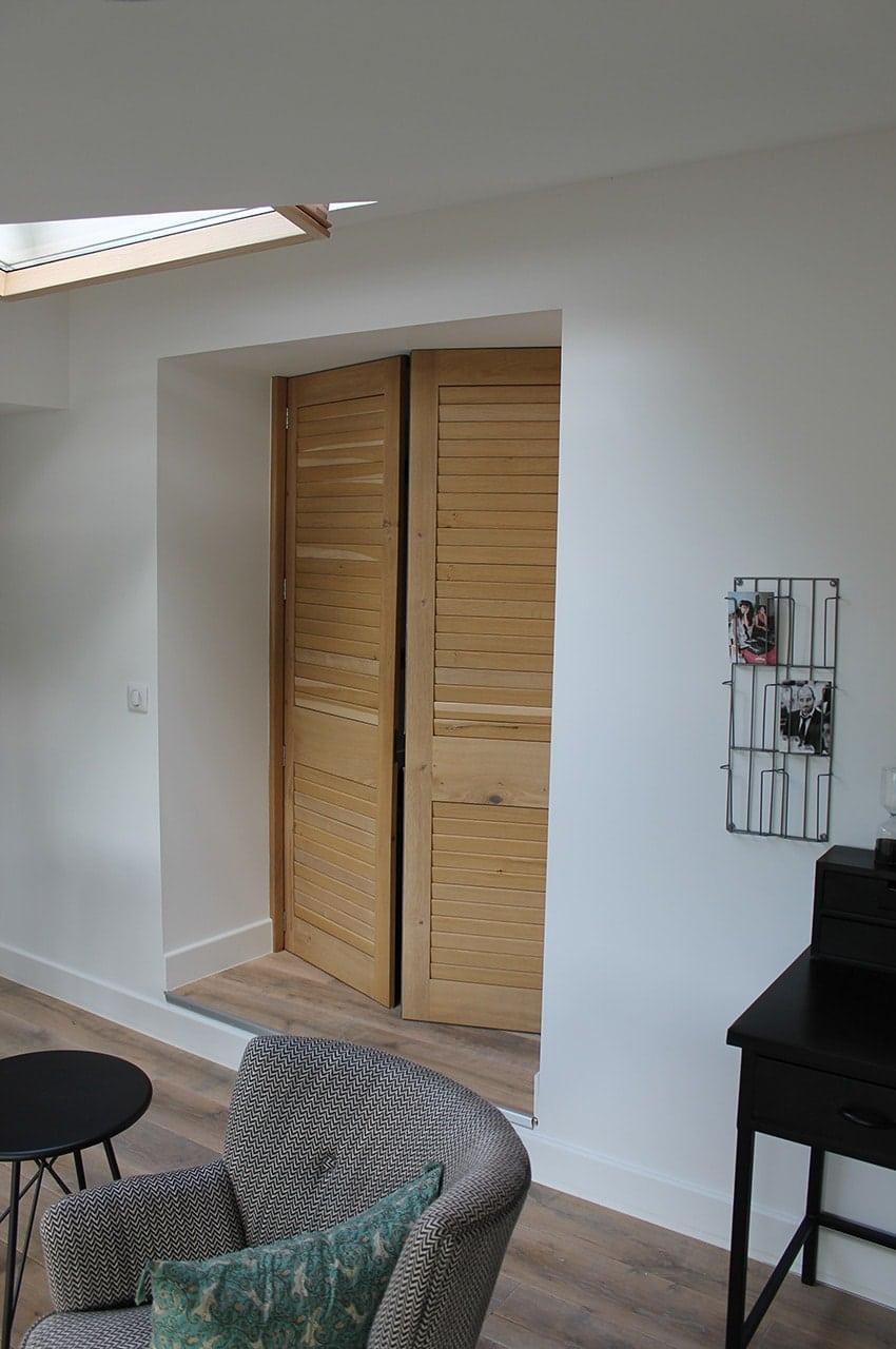 meuble de chambre sur mesure anachronic mobilier. Black Bedroom Furniture Sets. Home Design Ideas