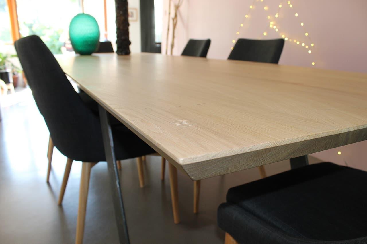Table Design En Bois Massif Anachronic Mobilier Samuel Ott # Meuble Design En Bois